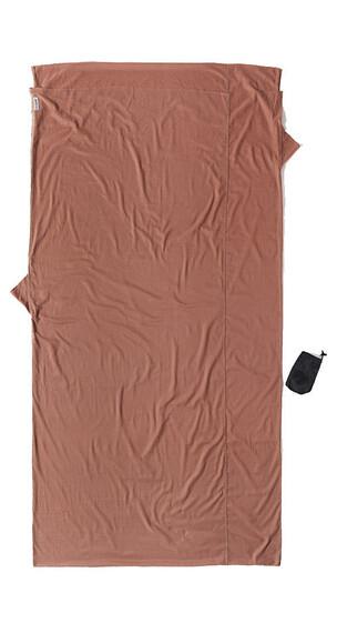 Cocoon TravelSheet - Sacos de dormir - Egyptian Cotton XL marrón